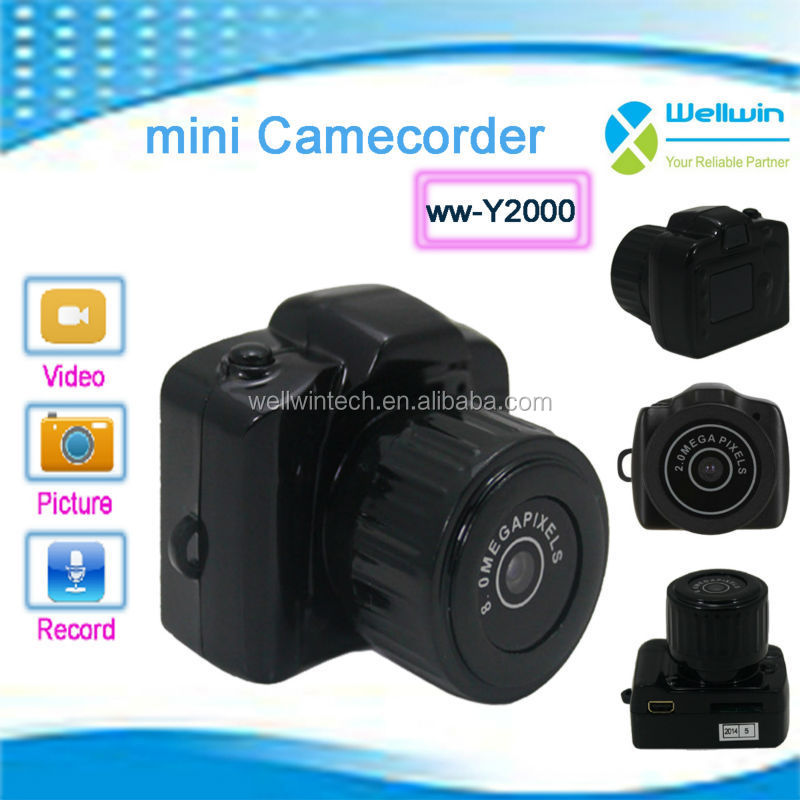 Portable Y2000 Smallest Mini Camera Camcorder Video DV Hidden WebCam