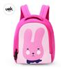 Uek Kids School Bag Pink Cartoon Rabbit dry bags waterproof backpack