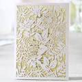 Laser Cut Guangzhou Wedding Invitation Card Manufacturer