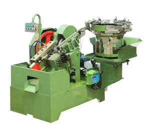 Common screw bolt making threading machine
