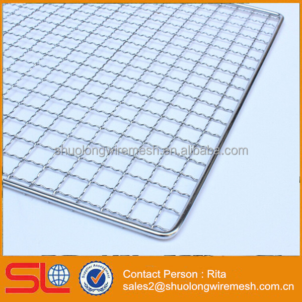 Stainless Steel BBQ Grill Grates Wire Mesh