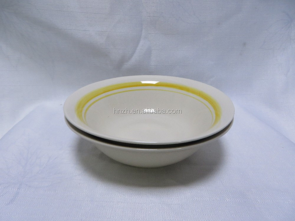wholesale chinese ceramic soup mixing food salad bowl
