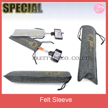 Felt selfie stick sleeve,stick bag ,stick cover