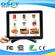 window restaurant no bezel pos systrem with free pos spare parts