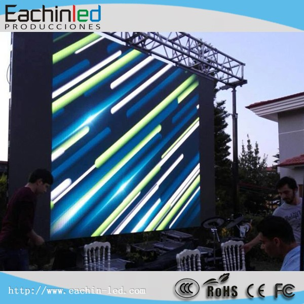 Outdoor full color aluminum rental LED display P4.81mm LED video wall screen