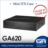 GA620 OEM/ODM Desktop Mini ITX Case For NVR, Car PC