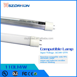 New Year 22W LED tube light T8 High Power LED tube light CE RoHS FCC Approved