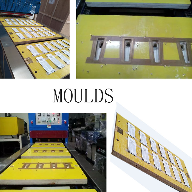 plastic blister sealing mould for blister packing machine