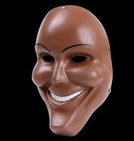 Wholesale cosplay decoration resin party smile mask movie The purge mask