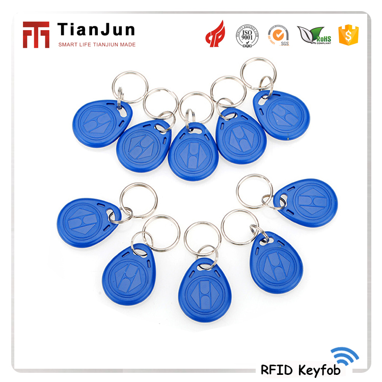 OEM high quality 125khz rfid key fob for door login