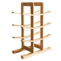 Hot sale bamboo wine bottle holder bamboo wine rack eco-friendly