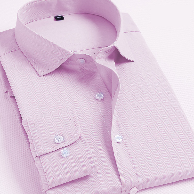 Men's Long Sleeves Oxford Shirts Casual Shirt