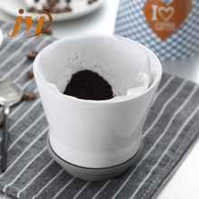 Outdoor travel portable ceramic 450ml coffee dripper set, clever dripper with coffee mug and tidy tray