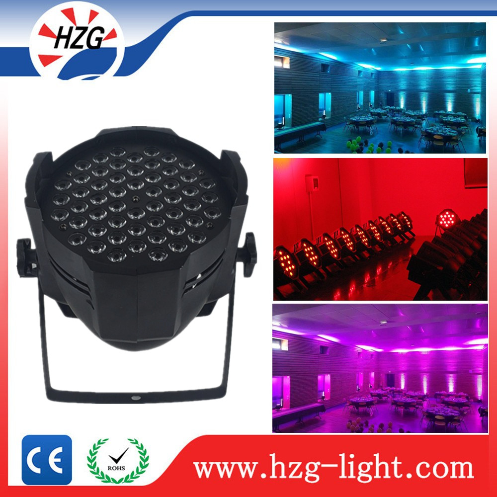 Led backlight stage lighting 54x3W RGBW Par 54leds LED Par Bulb Light DMX 512 Stage Lighting