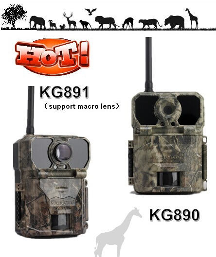 KG891 16mp 2g/3g/4g digital wireless mms hunting trail camera support micro lens