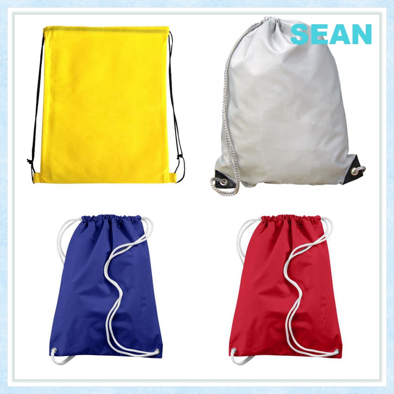 Excellent Quality Shopping Backpack Polyester Drawstring Bag