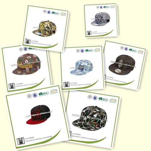 BSCI Audit cheap wholesale hip-hop cap brand hip hop cap