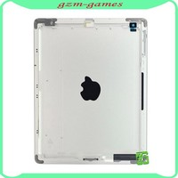 Original Rear Cover For Apple iPad 2 3G Wifi Version Silver Aluminum Battery Back Cover Door Housing