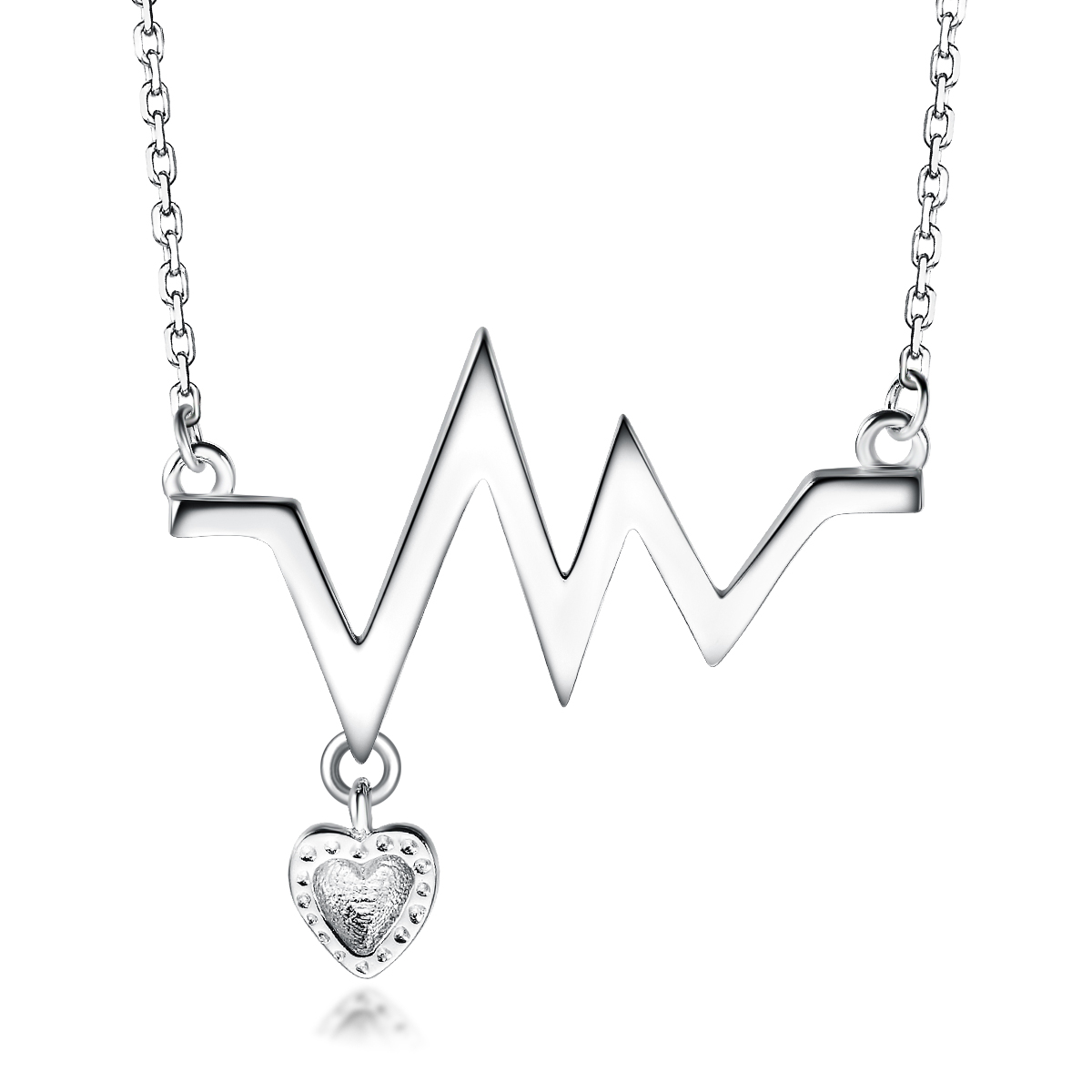 New Arrival Fashion Small Diamond Heart Necklace