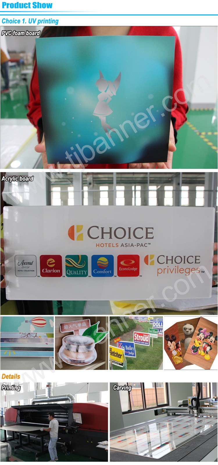 Cartoon PVC Foam Board, Cartoon Board, Printed Display Board