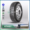 tire with diamond pattern top trust tyres 11R24.5 KTHD7