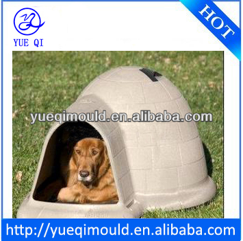 rotational molding plastic dog house,roto molded pet house