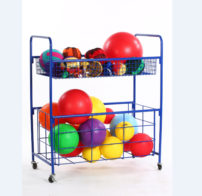 LPL factory New design Huge capacity home school organization ball rack