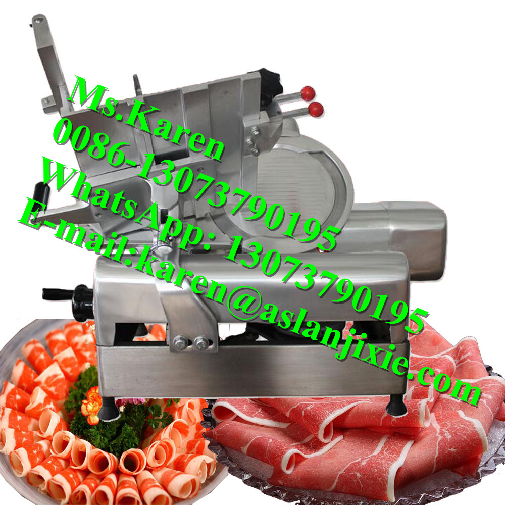 Meat slicer for hotel / Frozen meat cutter / beef mutton meat slicer