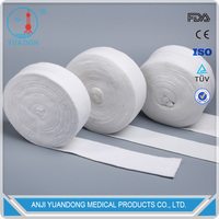 YD30031High quantity Medical White Polyester Orthopedic Tubular Stockintte Bandage