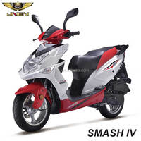 SMASH IV/Eagle King 125CC JNEN Motor Gas Moped With Pedals Motorcycle 125 cc 125cc Big Wheel Gas Scooter Suit for Big Man