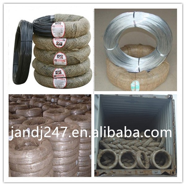 Factory price black annealed wire