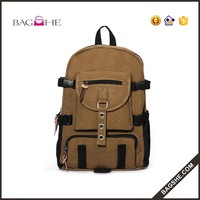 hot sale picnic backpack cotton canvas bag backpack