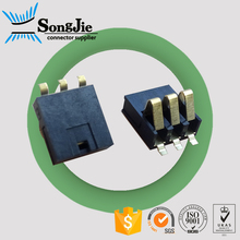 good price 1.2mm height equivalent amphenol battery connector 3pin 4pin 5pin