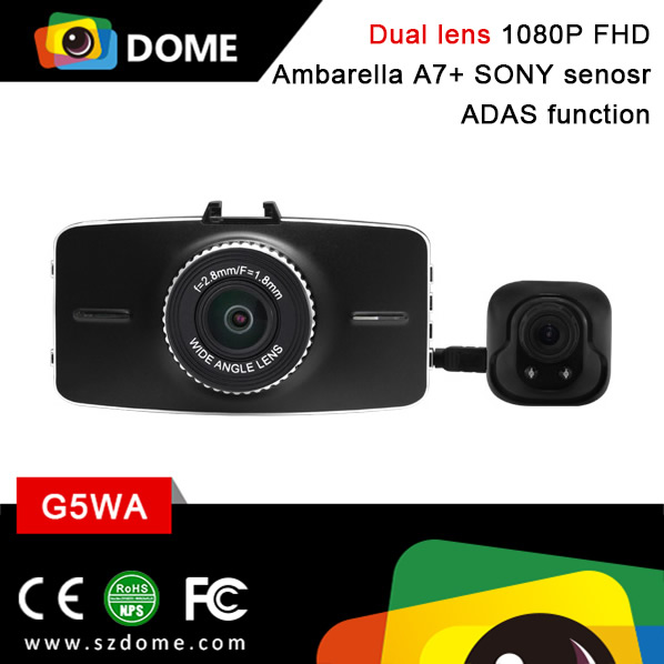 DOME G5WA Vehicle Blackbox DVR User Manual 1080P Car Video Camera Rear Dash Cam