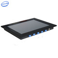 INNODA Intergrated Capacitive Touch 10.4 inch J1900 dual-core industrial panel pc front panel IP65