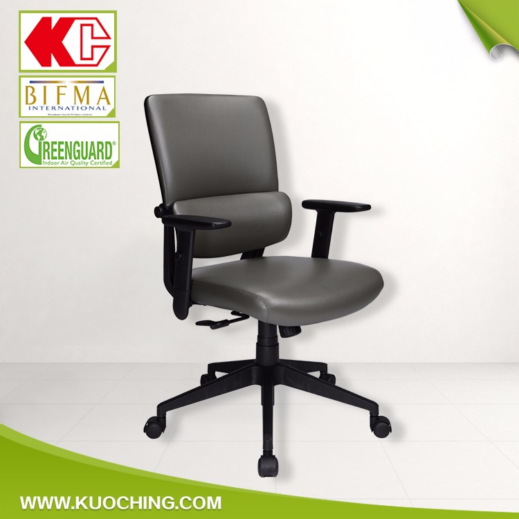 New Product Lumber Support Adjustable Mid Back Office Chair Conference