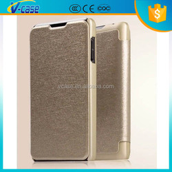 Stand design book style leather case for lenovo p780