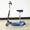 Mini foldable electric scooter with seat