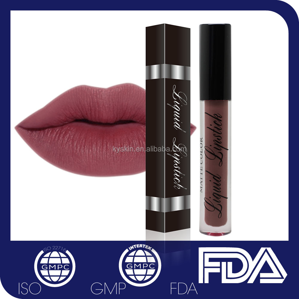 No Logo No Label Makeup Halal Wholesale Elegance Peel Off Kiss Proof Lipstick Matte in USA
