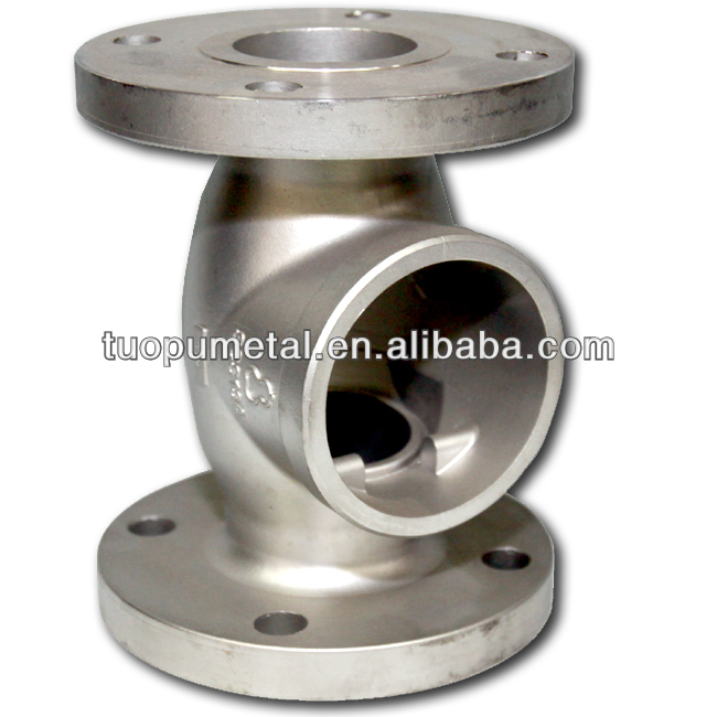 China Flange Valve lost wax casting Manufacturer ,china lost wax casting