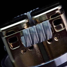 DIY vape coil wire accessory 316ss/ni80/a1 prebuilt alien/staple staggered/staggered fused/mirror finish coil