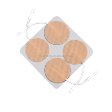ISO Approved Round Type Tens Machine Electrode pads for TENS muscle stimulator and Slimming massager