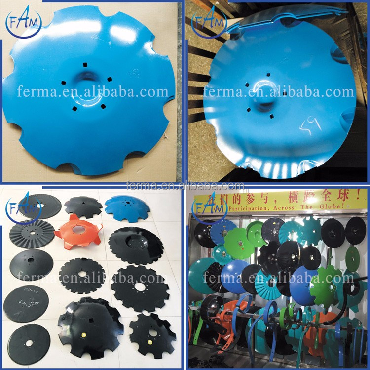 2016 hot Wholesale Farm plough blades disc blade,harrow teeth