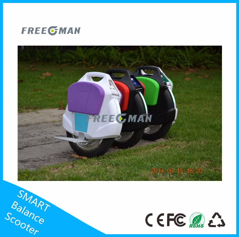 2016 Freeman best sports goods one wheel electric unicycle motorized uni wheel