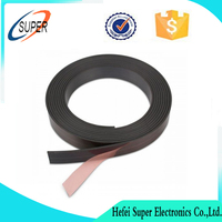 TESA adhesive Flexible rubber strong strip magnets