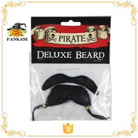 Pirate Deluxe Fake Mustache Beard for Adult Party