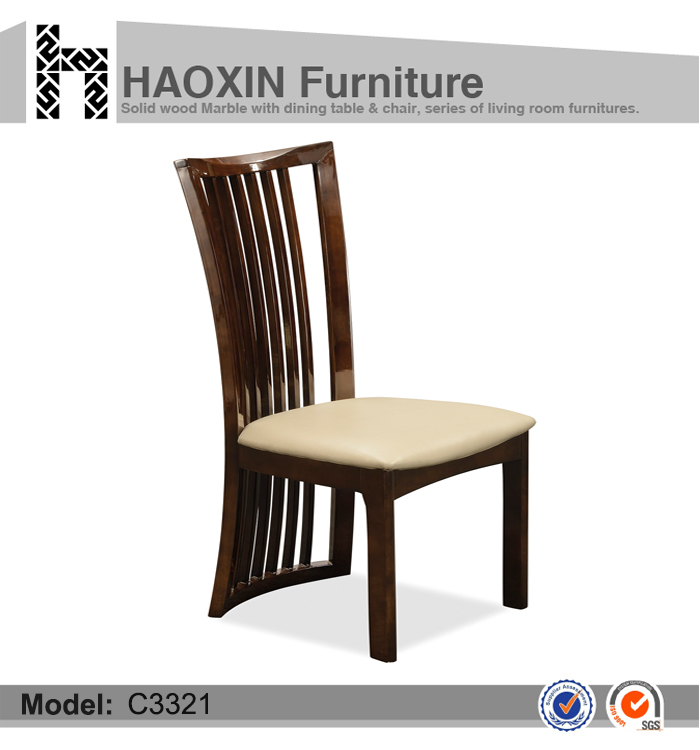 Backrest Dining Room Furniture Unfinished