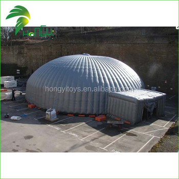 customized inflatable big dome tent