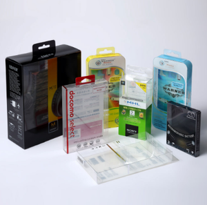 printed plastic packing box