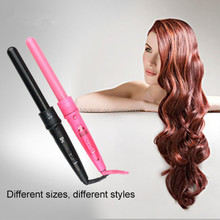 LCD electric three barrel hair curler ceramic hair curler 3 barrel wave triple curling iron